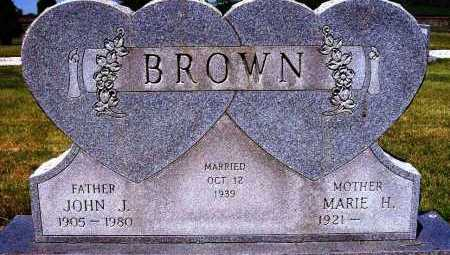 BROWN, JOHN J. - Stark County, Ohio | JOHN J. BROWN - Ohio Gravestone Photos