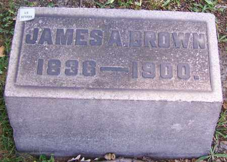 BROWN, JAMES A. - Stark County, Ohio | JAMES A. BROWN - Ohio Gravestone Photos