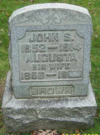 BROWN, JOHN S. - Stark County, Ohio | JOHN S. BROWN - Ohio Gravestone Photos