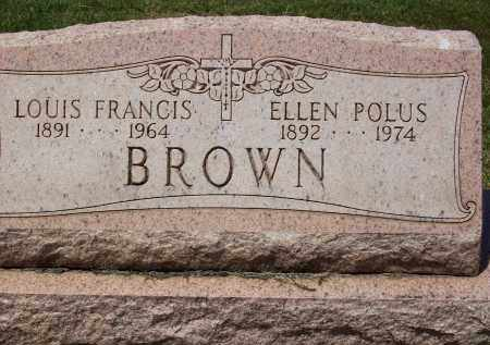 POLUS BROWN, ELLEN - Stark County, Ohio | ELLEN POLUS BROWN - Ohio Gravestone Photos