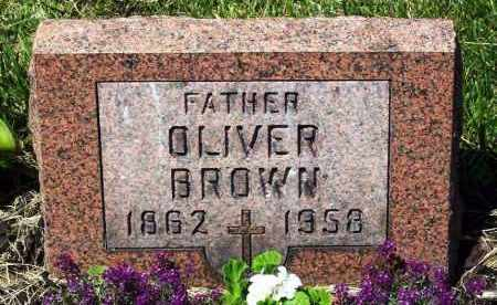 BROWN, OLIVER - Stark County, Ohio | OLIVER BROWN - Ohio Gravestone Photos