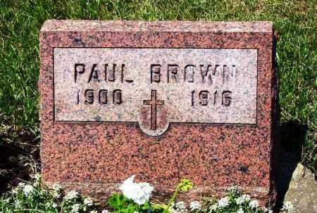 BROWN, PAUL - Stark County, Ohio | PAUL BROWN - Ohio Gravestone Photos