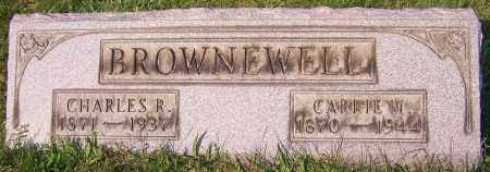 BROWNEWELL, CHARLES R. - Stark County, Ohio | CHARLES R. BROWNEWELL - Ohio Gravestone Photos