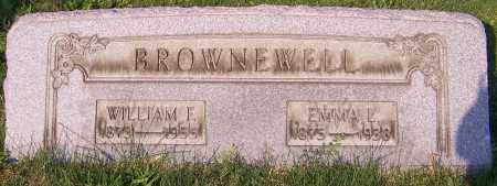 BROWNEWELL, WILLIAM F. - Stark County, Ohio | WILLIAM F. BROWNEWELL - Ohio Gravestone Photos
