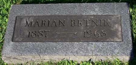 BRTNIK, MARIAN - Stark County, Ohio | MARIAN BRTNIK - Ohio Gravestone Photos