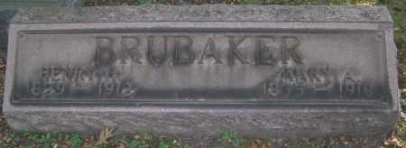 BRUBAKER, HENRY H. - Stark County, Ohio | HENRY H. BRUBAKER - Ohio Gravestone Photos