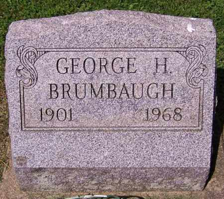 BRUMBAUGH, GEORGE H. - Stark County, Ohio | GEORGE H. BRUMBAUGH - Ohio Gravestone Photos