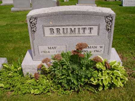 MODE BRUMITT, MAY - Stark County, Ohio | MAY MODE BRUMITT - Ohio Gravestone Photos