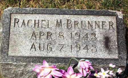 BRUNNER, RACHEL M. - Stark County, Ohio | RACHEL M. BRUNNER - Ohio Gravestone Photos