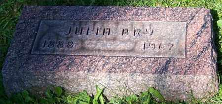 BRY, JULIA - Stark County, Ohio | JULIA BRY - Ohio Gravestone Photos