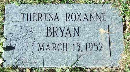 BRYAN, THERESA ROXANNE - Stark County, Ohio | THERESA ROXANNE BRYAN - Ohio Gravestone Photos