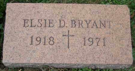 BRYANT, ELSIE D. - Stark County, Ohio | ELSIE D. BRYANT - Ohio Gravestone Photos