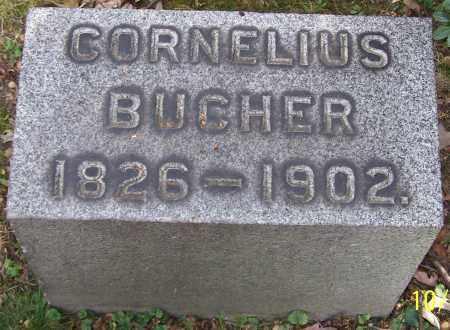 BUCHER, CORNELIUS - Stark County, Ohio | CORNELIUS BUCHER - Ohio Gravestone Photos