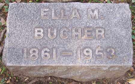BUCHER, ELLA M. - Stark County, Ohio | ELLA M. BUCHER - Ohio Gravestone Photos