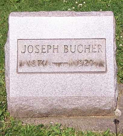 BUCHER, JOSEPH - Stark County, Ohio | JOSEPH BUCHER - Ohio Gravestone Photos