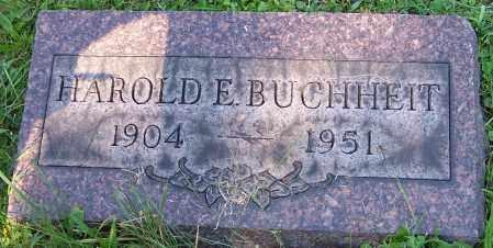 BUCHHEIT, HAROLD E. - Stark County, Ohio | HAROLD E. BUCHHEIT - Ohio Gravestone Photos