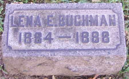 BUCHMAN, LENA E. - Stark County, Ohio | LENA E. BUCHMAN - Ohio Gravestone Photos