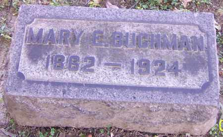 BUCHMAN, MARY E. - Stark County, Ohio | MARY E. BUCHMAN - Ohio Gravestone Photos