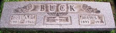 BUCK, JULIUS C - Stark County, Ohio | JULIUS C BUCK - Ohio Gravestone Photos