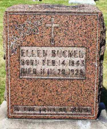 BUCKEL, ELLEN - Stark County, Ohio | ELLEN BUCKEL - Ohio Gravestone Photos