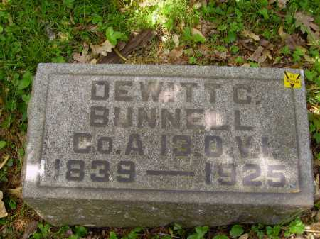 BUNNELL, DEWITT C. - Stark County, Ohio | DEWITT C. BUNNELL - Ohio Gravestone Photos