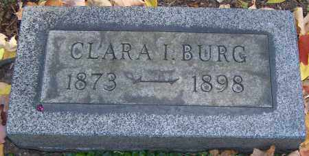 BURG, CLARA I. - Stark County, Ohio | CLARA I. BURG - Ohio Gravestone Photos