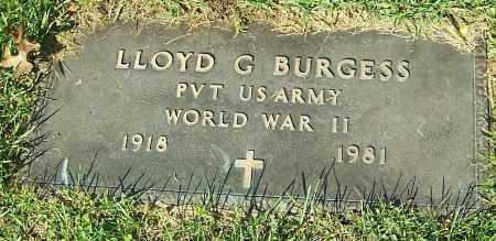 BURGESS, LLOYD G. - Stark County, Ohio | LLOYD G. BURGESS - Ohio Gravestone Photos