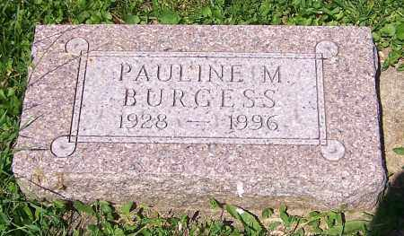 BURGESS, PAULINE M. - Stark County, Ohio | PAULINE M. BURGESS - Ohio Gravestone Photos