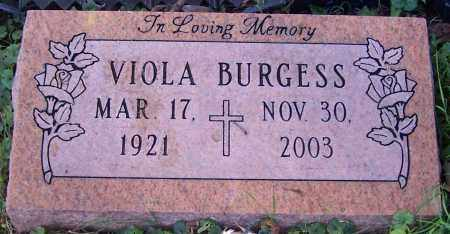 BURGESS, VIOLA - Stark County, Ohio | VIOLA BURGESS - Ohio Gravestone Photos