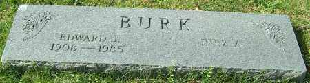 BURK, EDWARD J. - Stark County, Ohio | EDWARD J. BURK - Ohio Gravestone Photos