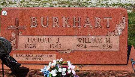 BURKHART, WILLIAM M. - Stark County, Ohio | WILLIAM M. BURKHART - Ohio Gravestone Photos