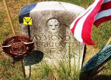 BURKHART, RAYMOND - Stark County, Ohio | RAYMOND BURKHART - Ohio Gravestone Photos