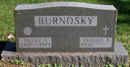 BURNOSKY, GLADYS A. - Stark County, Ohio | GLADYS A. BURNOSKY - Ohio Gravestone Photos