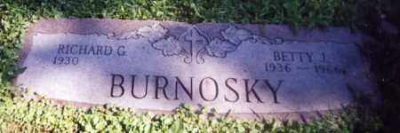 BURNOSKY, BETTY J. - Stark County, Ohio | BETTY J. BURNOSKY - Ohio Gravestone Photos