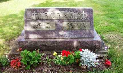 BERG BURNS, MARIE A. - Stark County, Ohio | MARIE A. BERG BURNS - Ohio Gravestone Photos
