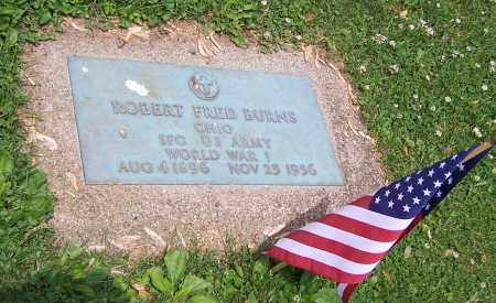 BURNS, ROBERT FRED - Stark County, Ohio | ROBERT FRED BURNS - Ohio Gravestone Photos
