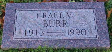 BURR, GRACE V. - Stark County, Ohio | GRACE V. BURR - Ohio Gravestone Photos
