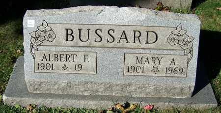 BUSSARD, ALBERT F. - Stark County, Ohio | ALBERT F. BUSSARD - Ohio Gravestone Photos