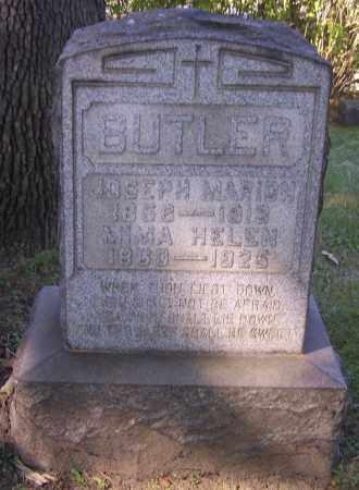 BUTLER, JOSEPH MARION - Stark County, Ohio | JOSEPH MARION BUTLER - Ohio Gravestone Photos