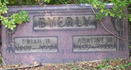 BYERLY, ADALINE - Stark County, Ohio | ADALINE BYERLY - Ohio Gravestone Photos