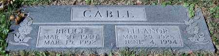 CABLE, ELEANOR - Stark County, Ohio | ELEANOR CABLE - Ohio Gravestone Photos