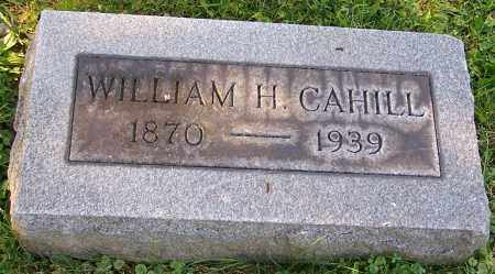 CAHILL, WILLIAM H. - Stark County, Ohio | WILLIAM H. CAHILL - Ohio Gravestone Photos