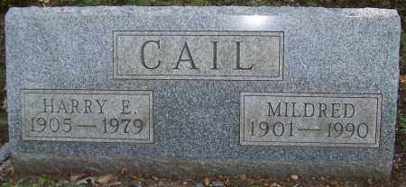 CAIL, MILDRED - Stark County, Ohio | MILDRED CAIL - Ohio Gravestone Photos