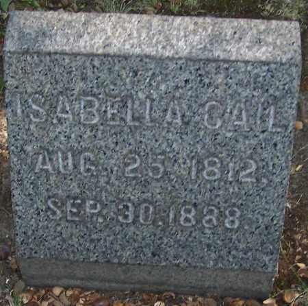 CAIL, ISABELLA - Stark County, Ohio | ISABELLA CAIL - Ohio Gravestone Photos