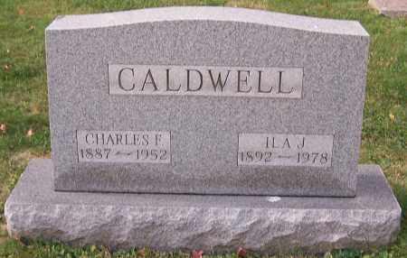 CALDWELL, ILA J. - Stark County, Ohio | ILA J. CALDWELL - Ohio Gravestone Photos