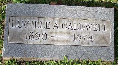 CALDWELL, LUCILLE A. - Stark County, Ohio | LUCILLE A. CALDWELL - Ohio Gravestone Photos
