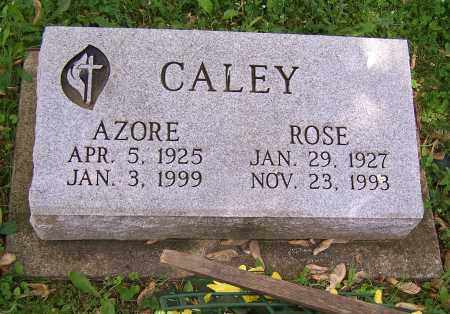 CALEY, AZORE - Stark County, Ohio | AZORE CALEY - Ohio Gravestone Photos