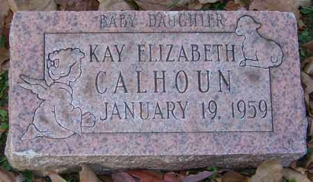 CALHOUN, KAY ELIZABETH - Stark County, Ohio | KAY ELIZABETH CALHOUN - Ohio Gravestone Photos