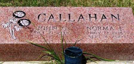 CALLAHAN, NORMA E. - Stark County, Ohio | NORMA E. CALLAHAN - Ohio Gravestone Photos