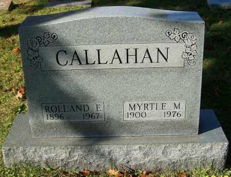 CALLAHAN, ROLLAND E. - Stark County, Ohio | ROLLAND E. CALLAHAN - Ohio Gravestone Photos